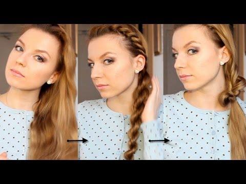 Две простые причёски на каждый день