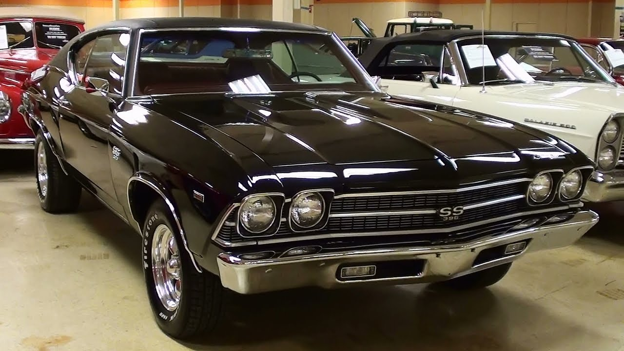 1969 Chevrolet Chevelle Ss 427 Big Block V8 Muscle Car