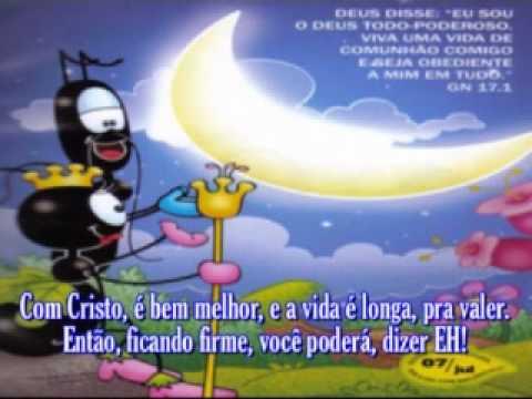 Roseane Ribeiro - Eu sou de Cristo - VOZ - Com letra..avi