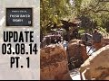 Disneyland Visit 03/08/2014 Pt. 1 - Big Thunder is ALIVE!
