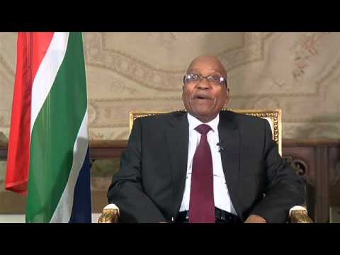 President Jacob Zuma encourages South Africans to vote