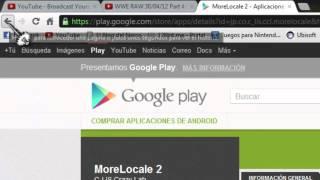 Cambiar Idioma Ingles Español Tablets Y Smathphone