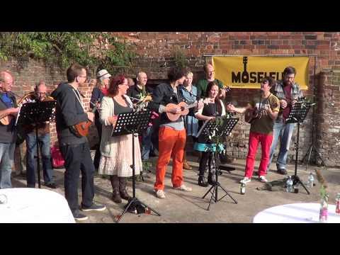 Moselele: 1st set at the Rude Food Fiesta 14.09.2013, Birmingham