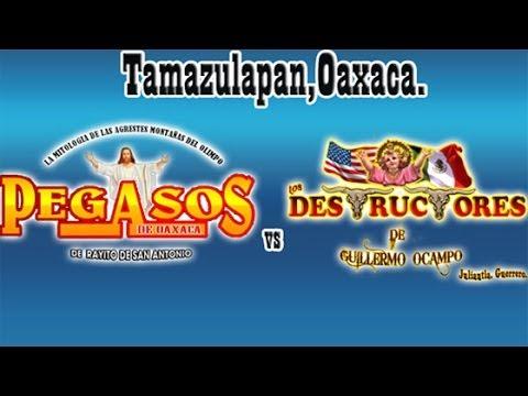 ¡¡DUO EXPLOSIVO!!  Pegasos De Oaxaca Vs Rancho Los Destructores En Tamazulapam, Oaxaca