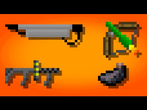 Minecraft - More Weapons in 1 command! (With 3d Models)