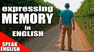 Learning English, Lesson 79, MEMORY, Speak English with Mr Duncan