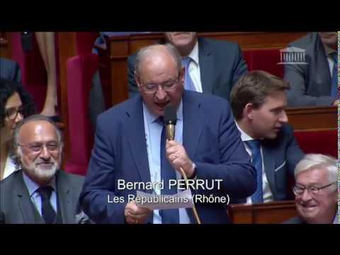 M. Bernard Perrut - Déficit du budget de la sécurité sociale