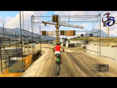 GTA 5 Online : RACE/Courses Mutliplayer #1