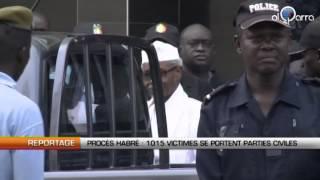 Procès Habré : 1015 victimes se portent parties civiles
