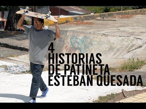 Segundo Relato, 4 Historias de Patineta: ESTEBAN QUESADA