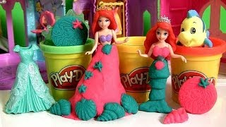 Play Doh The Little Mermaid Sparkle Stamper With Magic