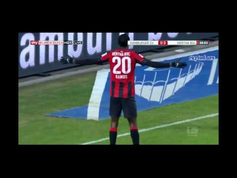 Adrian Ramos (Hertha Berlin) vs Hamburg