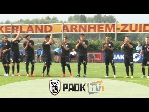 Η παρακάμερα του ΠΑΟΚ Vs Ντνίπρο 0-1 - PAOK TV