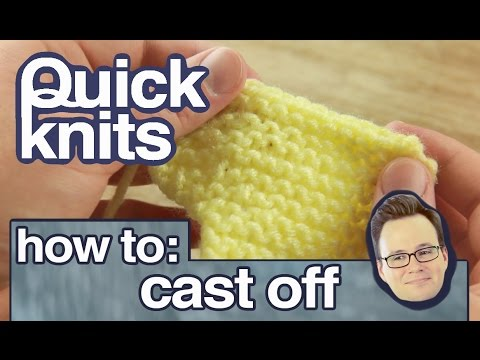 Quick Knits: How to Cast Off Your Knitting