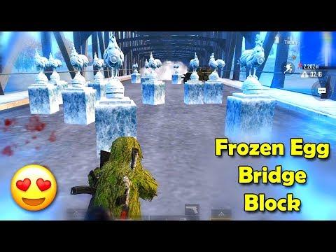 Frozen EGG Bridge Block with SMOKE😍😍 - Vera Level FUN