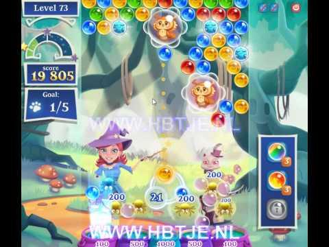Bubble Witch Saga 2 level 73