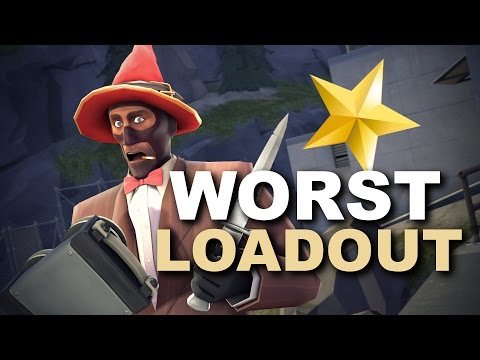 The Worst Loadout In TF2! PINK PEOPLE EVERYWHERE!