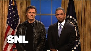 SNL: Obama gets Liam Neeson to Confront Putin about Ukraine