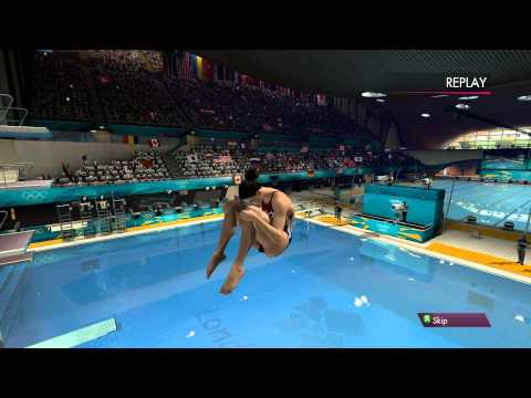 London 2012: The Official Video Game - Women's 3m Springboard