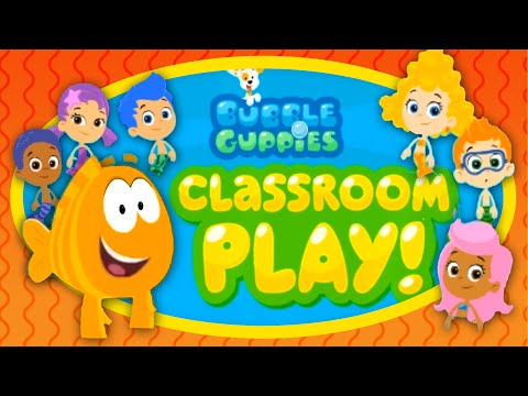 Bubble Guppies - Classroom Play & Halloween Party | Full Game 2014
