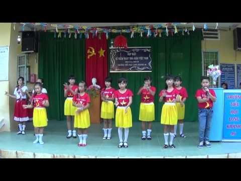 Mái trường mến yêu- lớp 5- trường TH Long Khánh A6