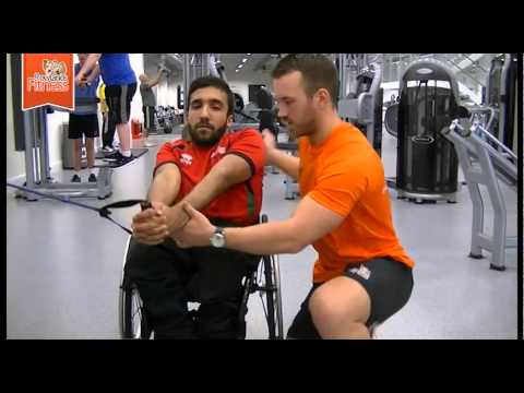 Abs Exercises for Disabled or Wheelchair bound users