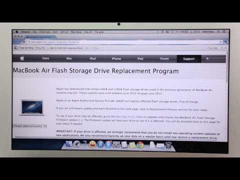 Cách kiểm tra MacBook Air của bạn có bị lỗi SSD hay không