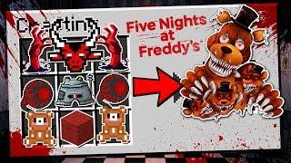 SỰ THẬT VỀ FIVE NIGHT AT FREDDY'S   (Minecraft phòng thí nghiệm )