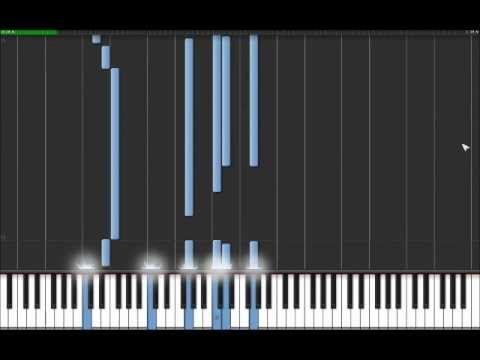 Right Here Waiting - Richard Marx (Easy Piano Tutorial) in Synthesia (100% speed)