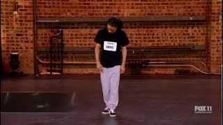 Hampton Williams - So You Think You Can Dance Audition (Judge Cries)