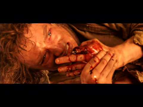 Lord of the rings return of the king: gollum death