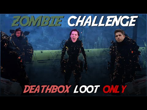 Zombie Challenge (Deathbox Loot ONLY) *RIDICULOUSLY FUNNY* - Apex Legends