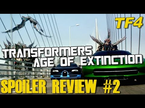Transformers Age of Extinction SPOILER Review - Part 2 of 3