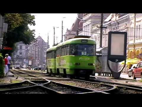 Tramvaie Tatra T4D + B4D in Oradea (Part.2) - Tatra T4D + B4D Trams in Oradea (Part.2)
