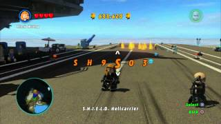 LEGO Marvel Superheroes Unlock Spider Cycle Cheat Code