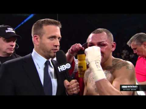 Max Kellerman's Chaotic Post-Fight Interview