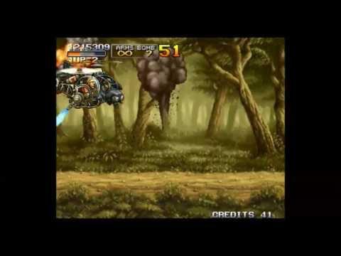 Metal Slug 3 (LongPlay , Full walkthrough )