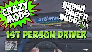 "GTA 5 Online ""1st Person Driving Mod"" RACE CAR MODE! - CRAZY MODS EP.5 (Grand Theft Auto 5)"