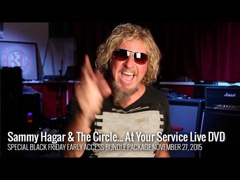 Sammy Hagar & The Circle - At Your Service Live Concert DVD