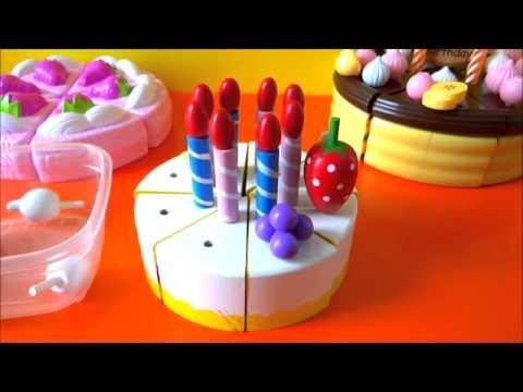 Đồ chơi làm bánh kem và trang trí bánh sinh nhật