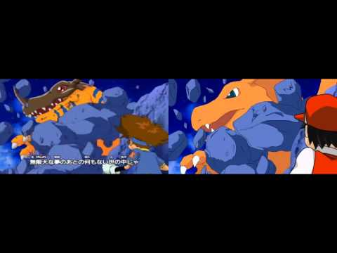 Digimon season 1 opening song (with Pokemon)