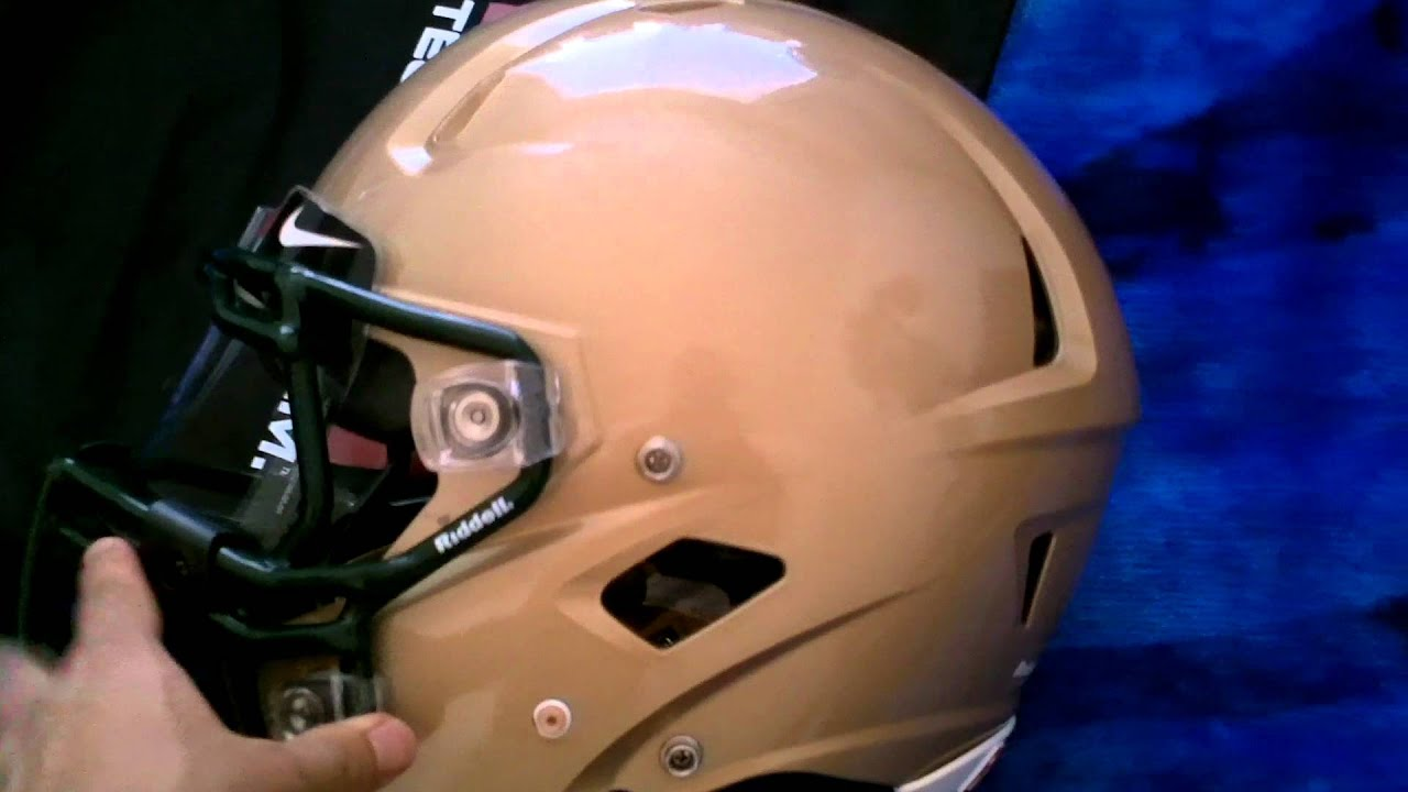 Riddell 360 With A Visor - YouTube