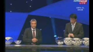 UEFA Champions League Group Stage 07-08 Draw Part 1