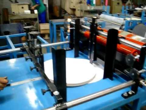 maquina de pintar cx de pizza em varias cores.TEL-MAQ.