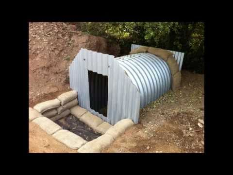 Anderson Shelter Restoration Project Youtube