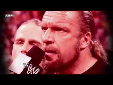 WWE WrestleMania 28 - Triple H Vs Undertaker (Hell In A Cell) Guest Referee HBK Promo 2012