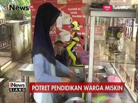 Ijazah Ditahan Sekolah, Siswi Berprestasi Terpaksa Berjualan Nasi Uduk - iNews Siang 12/04