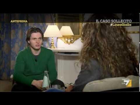 Omicidio Kercher, l'intervista a Raffaele Sollecito