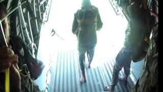 Video produzido pelo Centro de Comunicação Social da Aeronáutica (CECOMSAER) do Treinamento ministrado pelo militares da FORÇA AÉREA BRASILEIRA do PARASAR do salto de emergência de paraquedas ao cadetes da ACADEMIA DA FORÇA AÉREA (Pirassununga-SP) na aeronave C-105 Amazonas do Esquadrão Onça (1º/15º GAv) da V FORÇA AÉREA.
