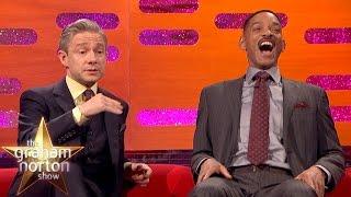 Martin Freeman Hates Getting Recognised at Urinals - The Graham Norton Show